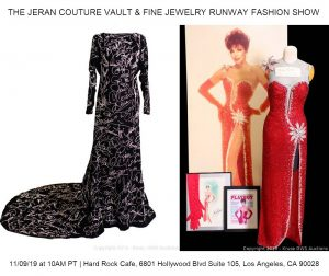 """World Famous """"Hollywood Graffiti Gown"""" Hits the Auction Block For The First Time Ever @ The Hard Rock Café Hollywood   Los Angeles   California   United States"""